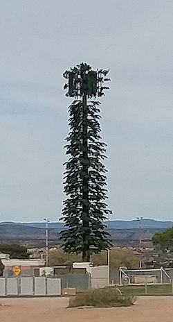 08b5a68a84 It just looks like a green fuzzy cell tower. I wonder how much money was  spent on that boondoggle?